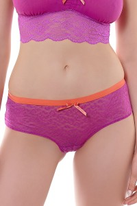 Fancies - Freya - szorty hipster AA1015 - fiolet